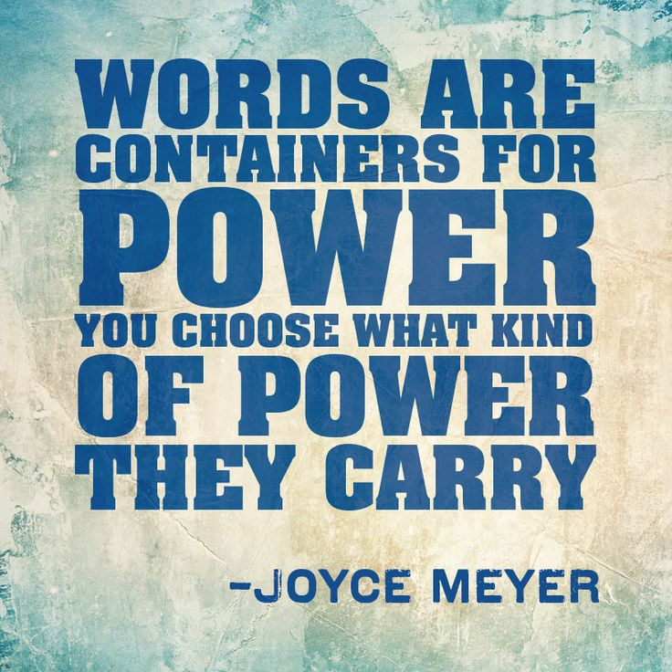 the power of words article
